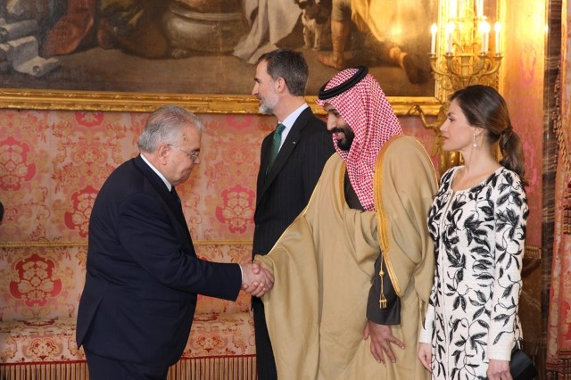 Official visit by the Prince of Saudi Arabia