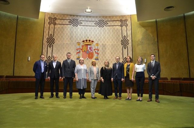 Working visit by a delegation of the Supreme Court of Latvia