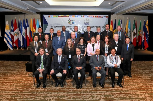 Ibero-American Magistrates meet in Panama to discuss the importance of Constitutional Justice in the protection of the Rule of Law