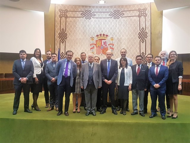 Working visit of the Magistrates attending the Ibero-American Course - 5th Promotion of Judicial Training for members of the Ibero-American Judicial Power