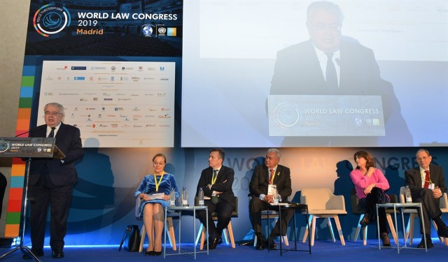 The President of the Constitutional Court, at the World Law Congress