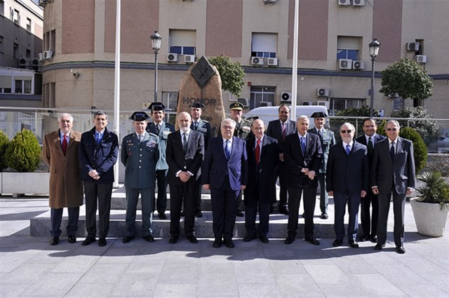 Visit of the President and several Magistrates of the Constitutional Court to the General Directorate of the Guardia Civil