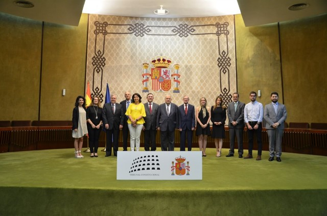 Institutional visit of a delegation of Brazilian prosecutors to the seat of the Constitutional Court