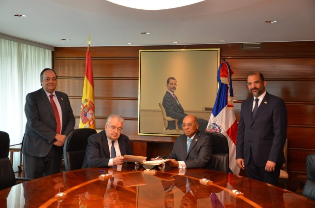 The Constitutional Court signs a memorandum of cooperation with the Constitutional Court of the Dominican Republic