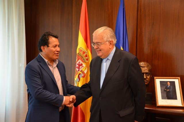 Institutional visit of the President of the Plurinational Constitutional Court of Bolivia