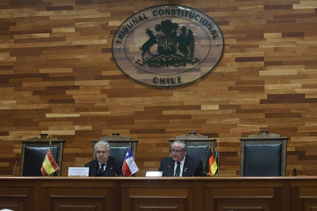 Institutional and working visit of the President of the Constitutional Court to the Constitutional Court of Chile